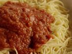 Лесен зеленчуков сос за спагети