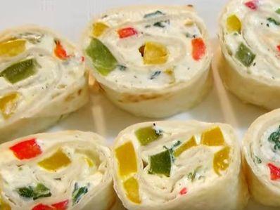 Лесни ролца с крема сирене