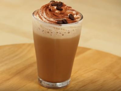 Млечен капучино коктейл