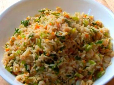 Скариди с пържен ориз