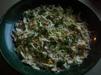 Есенна салата с шунка