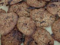 Овесени бисквитки с шоколадови парченца