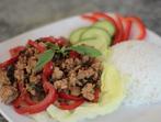 Пилешко с босилек по тайландски