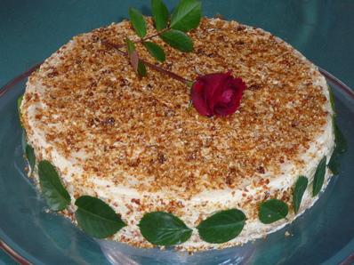 Торта с класически маслен крем