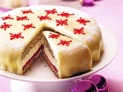 Звездна марципанова торта