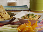 Хумус с печени чушки