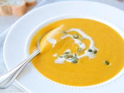 Тиквена супа със сметана