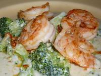 Скариди с броколи