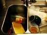 Ето как една домакиня пести време от миене на съдове