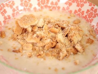 Мляко с ориз в микровълнова