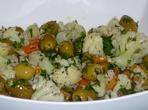 Салата с карфиол и маслини