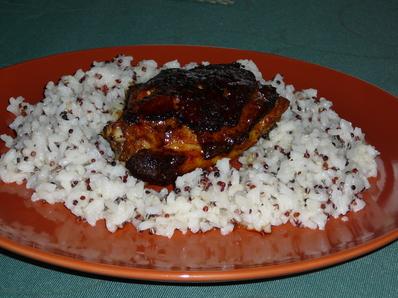 Пиле с ориз и киноа