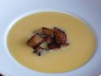 Крем супа с резене