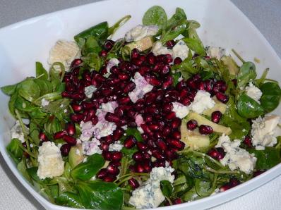 салат руккола и авокадо рецепт