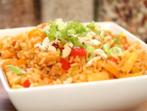 Ориз със зеленчуци и кокосово мляко