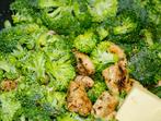 Пилешки филенца с броколи