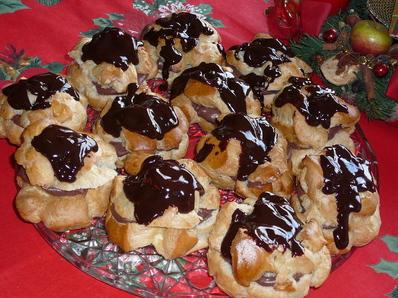 Еклери с шоколад за Коледа