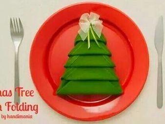 Трябва да си направите тези салфетки за Коледа