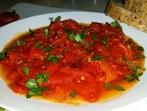 Печени пиперки с доматен сос