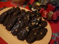 Шоколадови бисквити с лешници