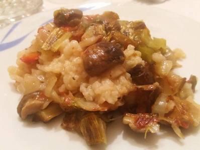 Ориз със зеленчуци по селски