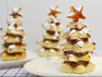 Новогодишни елхички с бутер тесто