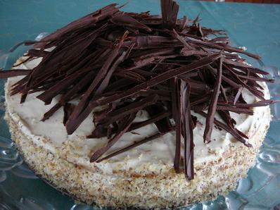 Торта с шоколад и маскарпоне
