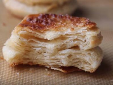 Бисквитки от домашно бутер тесто