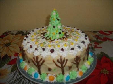 Новогодишна торта Елха