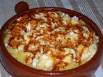 Качамак с бъркани яйца