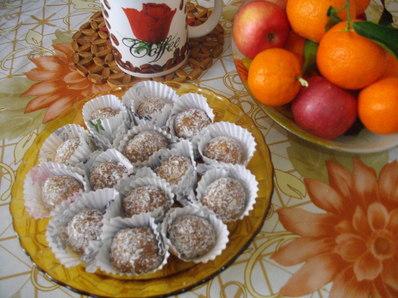 Бисквитени бонбони с тахан