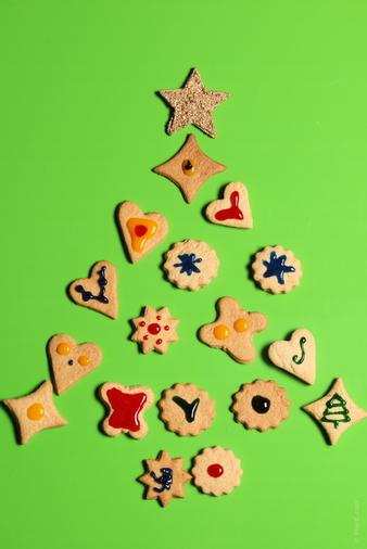 Коледни курабии: Украсата