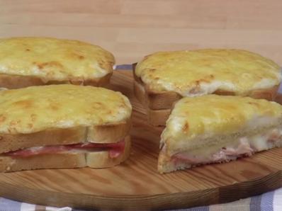 Крок Мосю - френски сандвичи