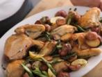 Пиле с 2 гарнитури