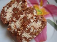 Сладък салам с орехи