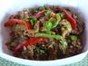 Топла салата с ечемик