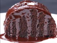 Шоколадов кекс с червено вино