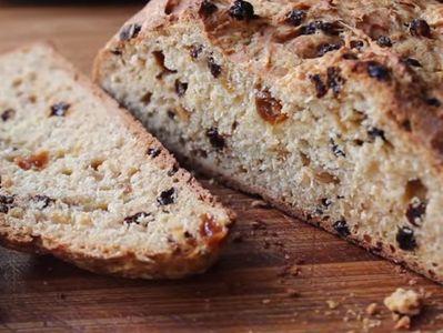 Сладък хляб със стафиди по ирландски