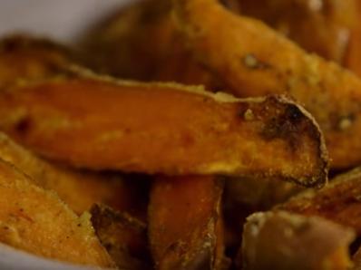 Печени сладки картофи - Джейми Оливър