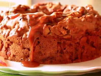 Ябълково-карамелен кекс
