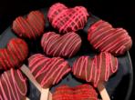 Невероятни ягодово-шоколадови сърца за Св. Валентин