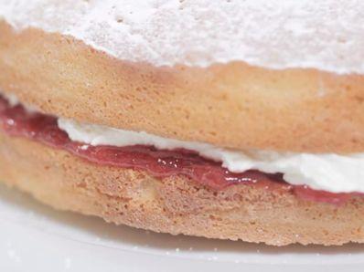 Пандишпанена торта Виктория