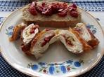 Пиле с моцарела и сушени домати