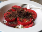 """""""Мръсна"""" доматена салата"""