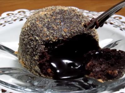 Лава кейк без печене (2 съставки)