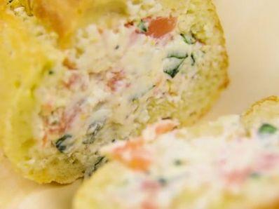 Сандвич с крема сирене и риба