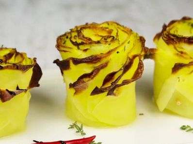 Картофени рози