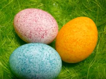 Боядисвали ли сте яйца с помощта на ... ОРИЗ?