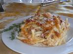 Спагети с паста аншоа