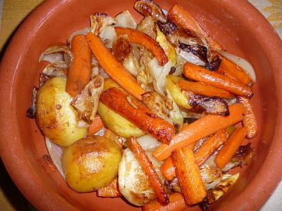 Ароматни печени зеленчуци